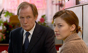Bill Nighy in The Girl In The Cafe