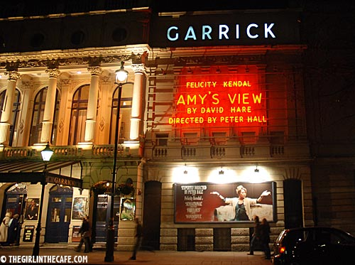 Amy's View in  the Garrick