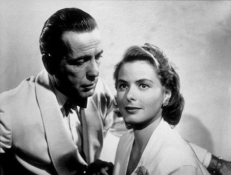 Humphrey Bogart / Ingrid Bergman in Casablanca