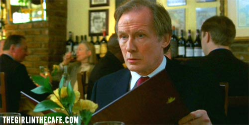 Lawrence - Bill Nighy - The Girl in the Cafe