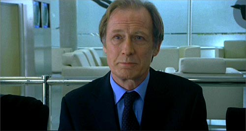 Bill Nighy as Lawrence in The Girl In The Cafe