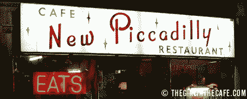 New Piccadilly Cafe, London