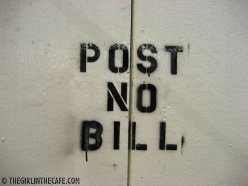 Post no Bill, New York