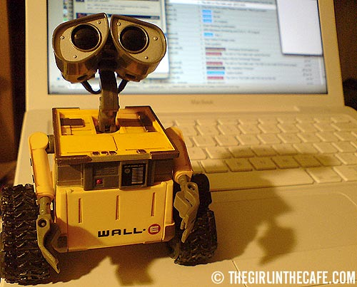 WALL-E and Billy Mac