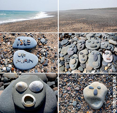 Isle of Man - pebbles
