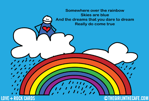 Somewhere under the rainbow