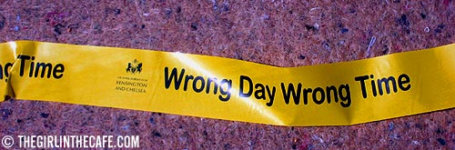 Wrong Day Wrong Time
