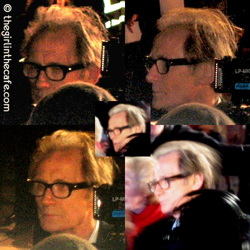 Bill on Leicester Square, Valkyrie premiere - floppy hair is cool