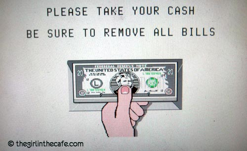 As if there would be a chance that I would leave a Bill behind ...