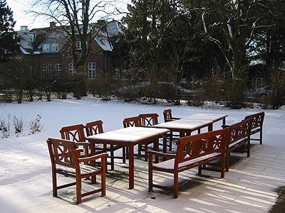 Lunch in de sneeuw